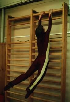 гимнастика на шведской стенке видео